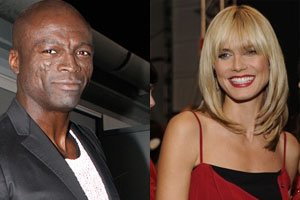 Seal und Heidi Klum Fotomontage. Foto links: © Eva Rinaldi, Wikipedia, Foto rechts: © The Heart Truth, Flickr, Wikipedia