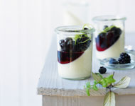 Dessert-Klassiker: Beeren-Panna-Cotta
