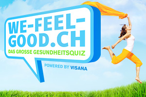 Visana: das grosse Gesundheitsquiz We-feel-good.ch