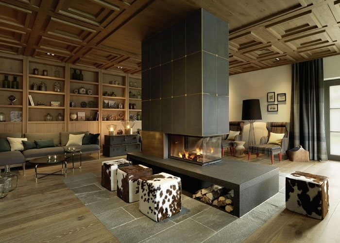 bild 5 l wen hotel montafon lounge. Black Bedroom Furniture Sets. Home Design Ideas
