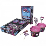 Muffinset Monster High 48-tlg
