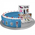 8 Zuckersticker Monster High