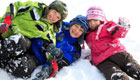 Spiele im Schnee fr Kinder