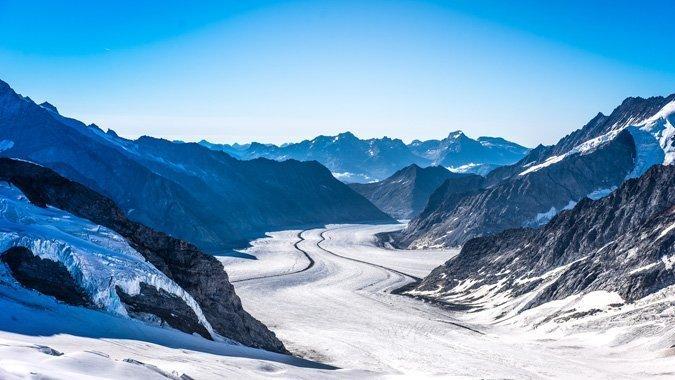 Ausflugstipps: Die schönsten Gletscher der Schweiz