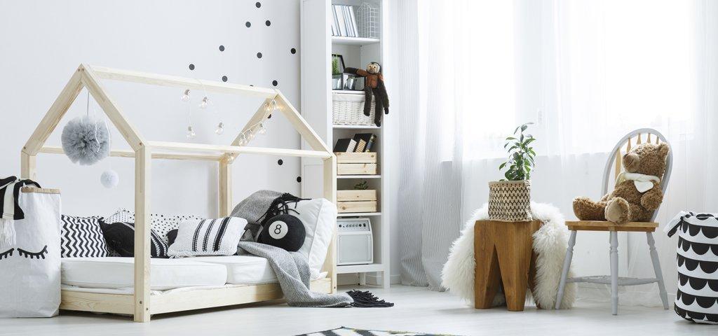 Kinderzimmer Gestalten: Wie Sie In Einem Schwierigen Raum Ein Schönes Kinderzimmer  Einrichten
