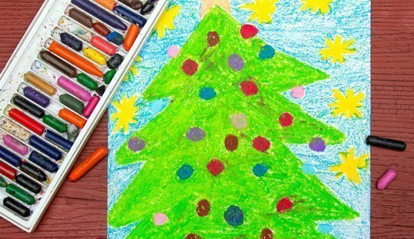 Weihnachtskarten Basteln Ideen Fur Kinder