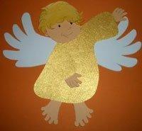 Engel basteln mit kindern
