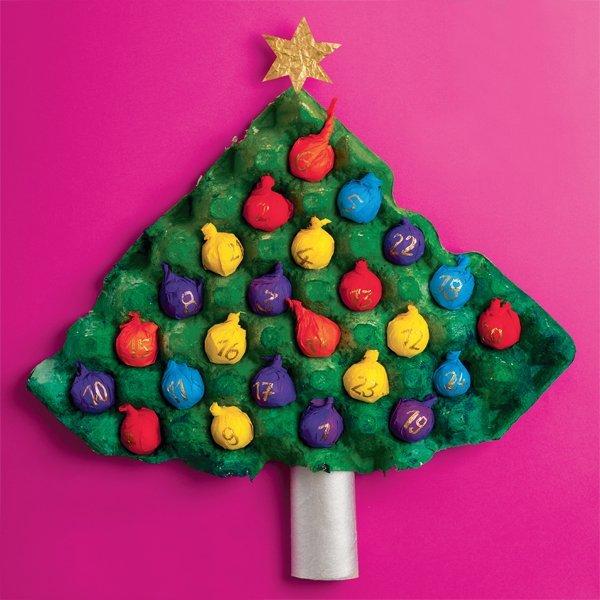 Basteln Mit Kleinkindern Einfache Anleitungen Fur Die Adventszeit