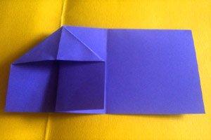 origami anleitung fisch aus papier basteln. Black Bedroom Furniture Sets. Home Design Ideas