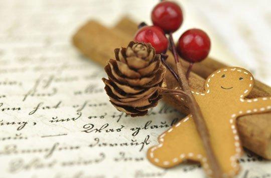Weihnachtsgedicht mit der maus