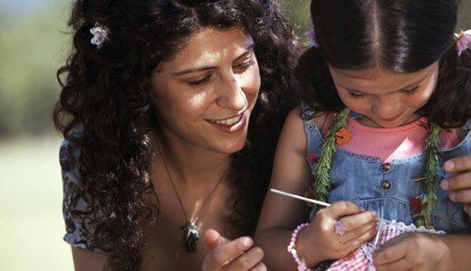 Leicht Häkeln Mit Kindern So Bringen Sie Ihrem Kind Luftmaschen Bei
