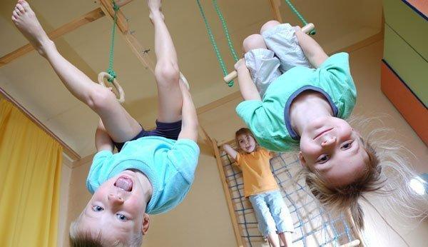 Kinderturnen Freude An Bewegung Von Anfang An