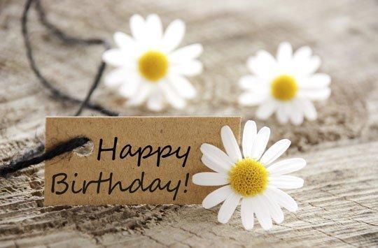 Geburtstagsgrüße einfache Geburtstag: Gelungene