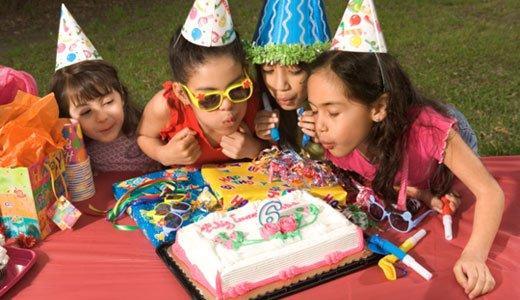 Eine tolle Kindergeburtstagsparty für Mädchen organisieren