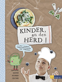 Kinder an den Herd