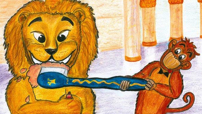 Zahnpflegtipps mal anders: Richtig Zähneputzen mit George dem Löwen