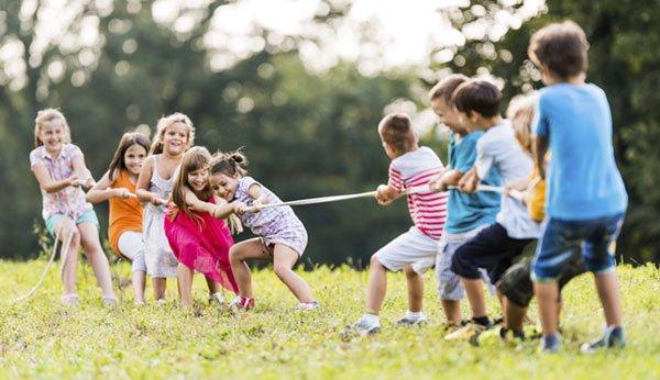 Kinderspiele Machen Schlau Und Fördern Kinder