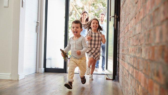 Wohnen als Familie – Die Sicherheit hat Vorrang