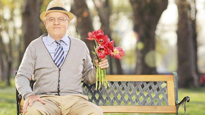 Date a Rentner: Denn allein sein ist doof