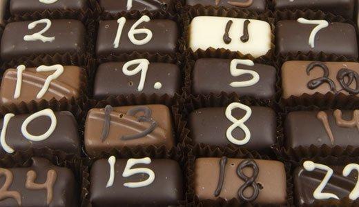 Schokoladen Weihnachtskalender.Schokoladen Weihnachtskalender Der Klassiker Für Jung Und Alt