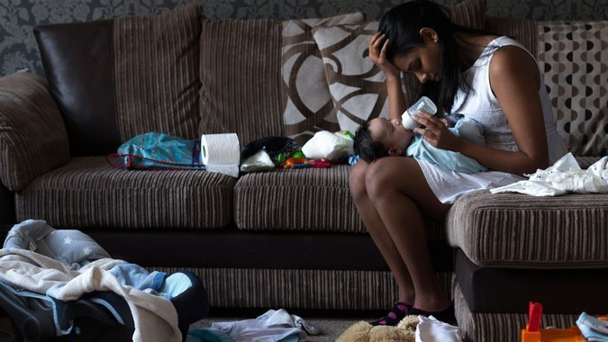 Wochenbett-Depression: Eine betroffene Mutter erzählt