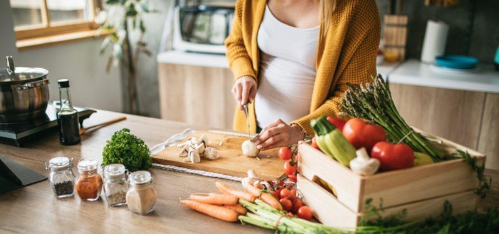 Tägliche Diät für übergewichtige schwangere Frauen