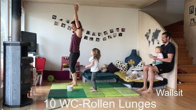Gemeinsam macht's mehr Spass: Dieses Family-Workout bringt Sie in Bewegung