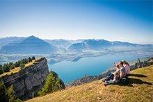 Gewinnen Sie einen Familien-Ausflug in die Ferienregion Interlaken
