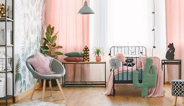 Modernes Teenagerzimmer