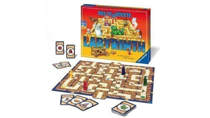 Verlosung: Holen Sie sich «Das verrückte Labyrinth» für den Spieleabend