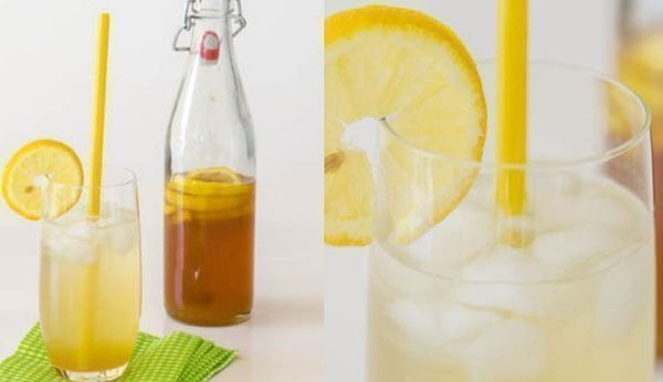 Lemon lemonade with brown sugar easy fruit drink recipes