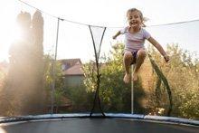 Trampolin-Test: Damit landen Sie sicher!