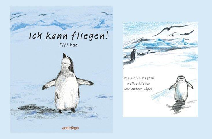 Der fliegende Pinguin – Gewinnen Sie eines von drei Kinderbüchern!