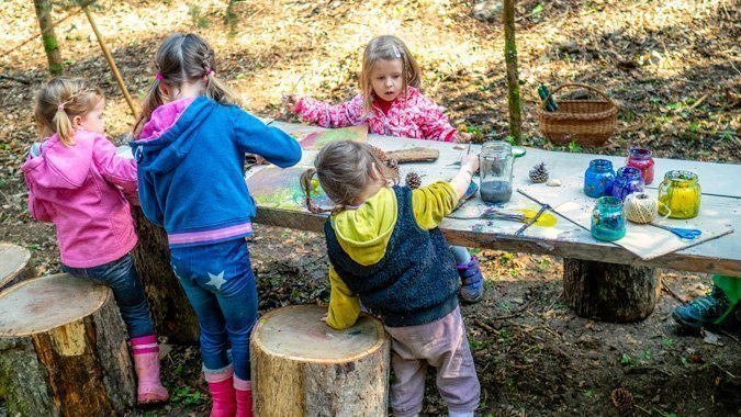 Was unsere Kleinen im Waldkindergarten erwartet