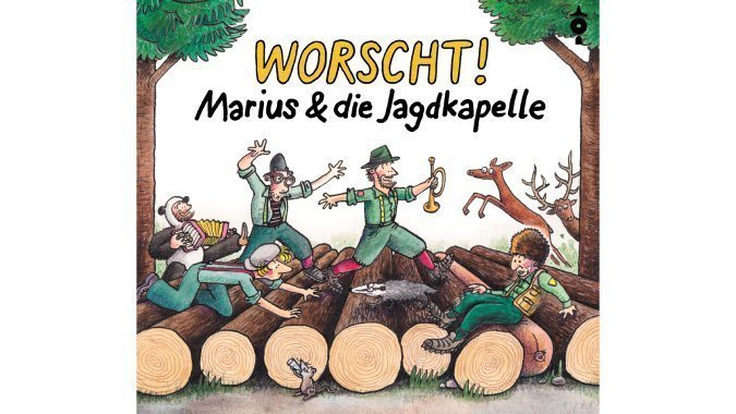 Jetzt geht's um die «Worscht!»: CDs von Marius & die Jagdkapelle gewinnen