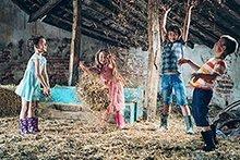 Family-Challenge: 6. Besuchen Sie einen Erlebnisbauernhof