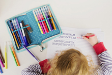 Geschenke für den Schulanfang: Wie Sie Turnsack und Etui einfach selbst nähen