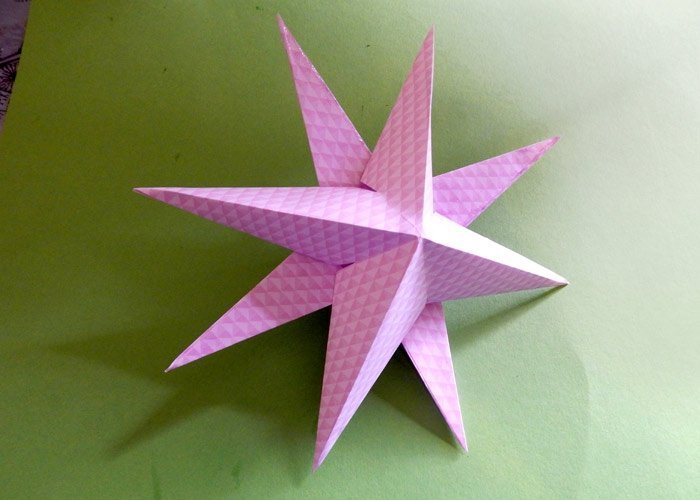 Favorit Sterne falten: Bastelanleitung für Kinder und Erwachsene RS42