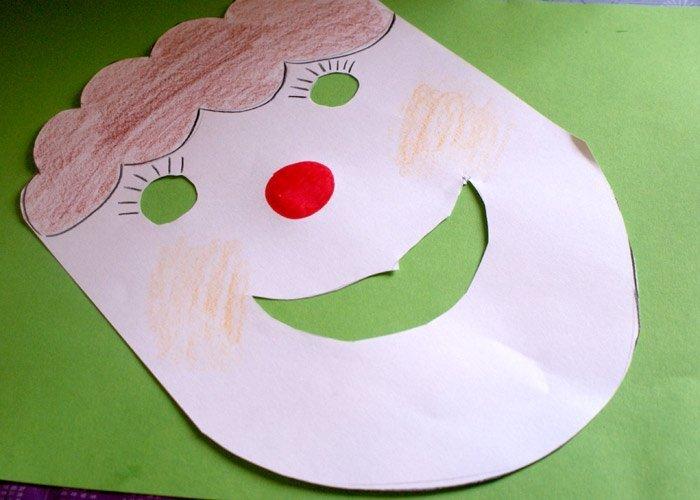 Masken Basteln Einfach Idee Fur Kleine Kinder