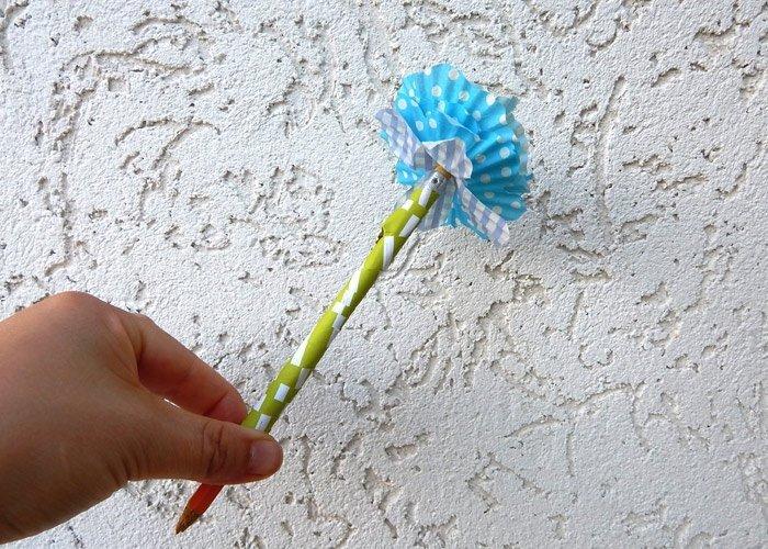 Blumen Basteln Aus Muffin Förmchen