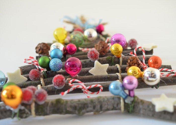 Bild 2 weihnachtsbaum to go - Weihnachtsdeko selber basteln kindergarten ...