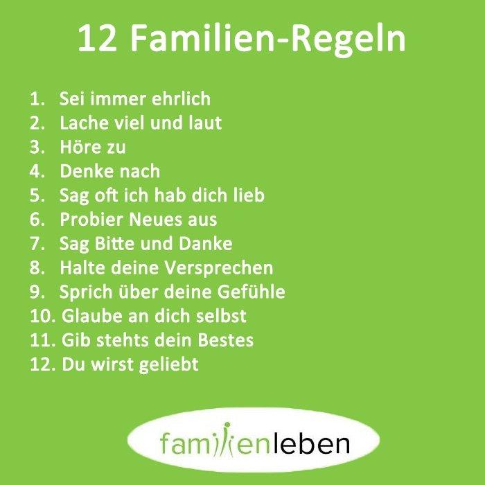familien sprüche zum nachdenken Bild: 2   Schöne Sprüche zum Nachdenken: Familien Regeln familien sprüche zum nachdenken