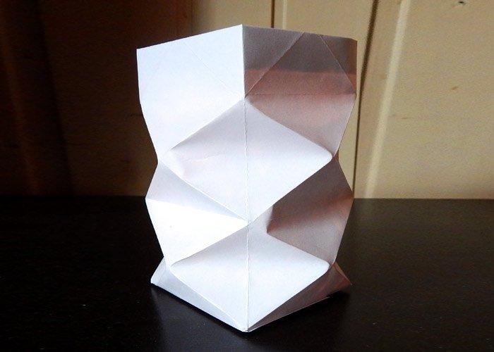Windlicht Basteln Dafur Brauchen Sie Nur Ein Blatt Papier