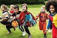 Family-Challenge : 9. Halloweenkostüme selber basteln