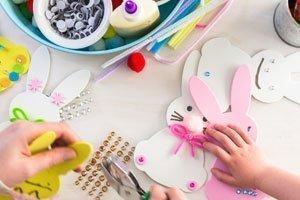 Osterhasen basteln: Die schönsten Ideen für Kinder