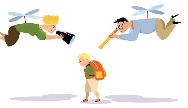 Gehören Sie zur Gruppe der Helikopter-Eltern?