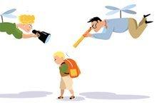 Sind Sie Helikopter-Eltern?