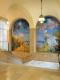 Treppenhaus mit Wandbild Foto: Kunstmuseum Winterthur