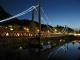 Brücke bei Nacht Foto: Swiss vapeur parc