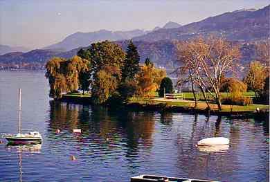 Freizeitanlage Horn Areal Am See In Richterswil
